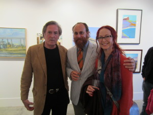Robert Johnson with Beau Bouverat and Kathryn St. Clair
