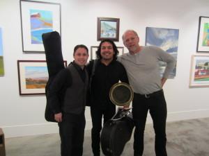 Joe w. musicians
