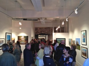IceHouse Gallery Inaugural opening night